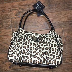 Liz Claiborne luggage, fun animal print tote bag